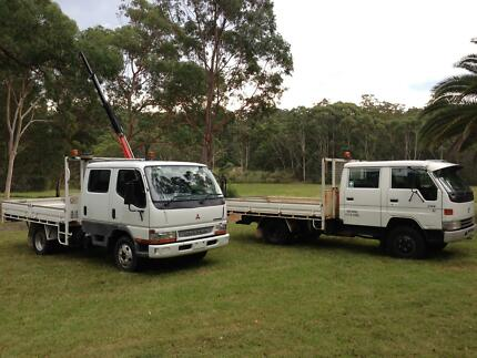 duel cab truck with crane palfinger , Hiab Kenthurst The Hills District Preview