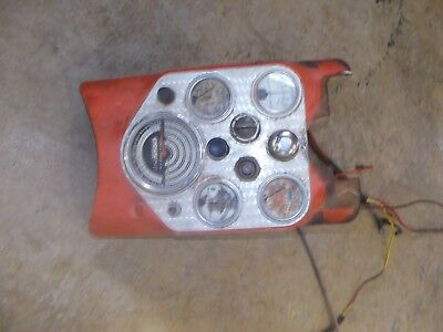 Allis Chalmers D15 Tractor Ac Nice Original Dash Panel Tachometer Switch Gauges