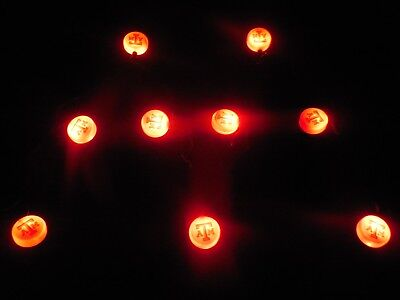 Texas A&M Aggies Christmas Lights Strand Indoor Room Decoration 10 Lights 8'FT ()