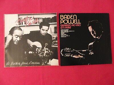 2 LP BADEN POWELL em Paris Para Vinicius BRASIL | M- to EX