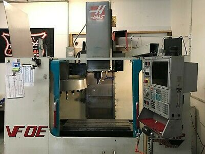 Used Haas Vf-0e Cnc Vertical Machining Center 30x16 Mill Ct40 4th Axis Ready 00