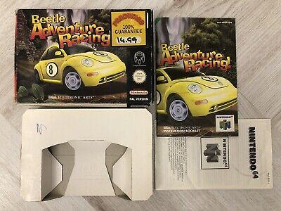 Beetle Adventure Racing Nintendo 64 N64 Box Manual Only