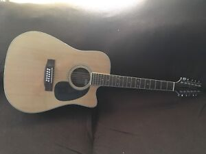 Jasmine 12 String acoustic/ electric  guitar