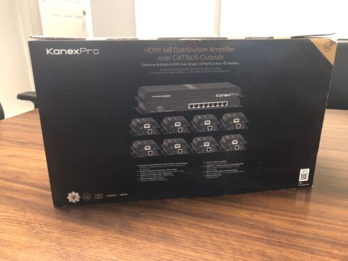 KanexPro SP-HDCAT1X8 HDMI® 1x8 Distribution Amplifier
