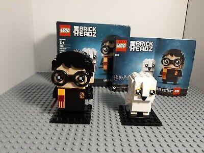 LEGO BrickHeadz (41615) Harry Potter & Hedwig 100% complete w/instructions & box