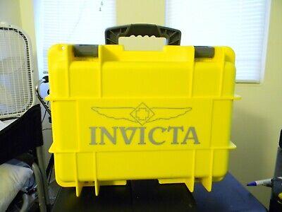 Invicta Classic Yellow and Silver 8 Slot Dive Case
