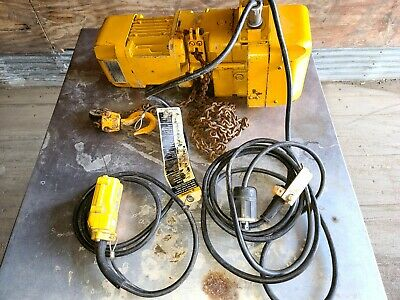 Harrington 14 Ton Lift Electric Chain Hoist 3 Phase