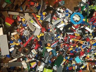 5lbs Lego Bulk lot genuine %100 Lego Star Wars, Ninjago, Bionicle, Technic, City