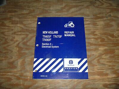 New Holland Tn65f Tn75f Tn90f Tractor Electrical Wiring Diagram Manual