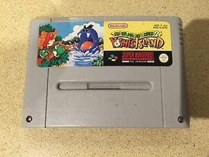 Super Mario World 2 Yoshi's Island Pal Version (SNES) Chadstone Monash Area Preview