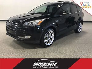 2013 Ford Escape Titanium CLEAN CARPROOF, TITANIUM TRIM, ECOB...