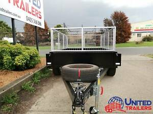 SALE 8X5 HEAVY DUTY TANDEM BOX TRAILER WITH GALVANISE CAGE Penrith Penrith Area Preview