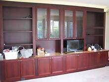 IMPRESSIVE LARGE TIMBER WALL UNIT - PLEASE SAVE THIS WALL UNIT Brighton Bayside Area Preview