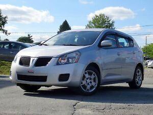 2009 Pontiac Vibe SE + A/C + GR ÉLEC. + CRUISE + WOW!