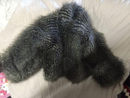 Vintage style fake fur jacket 3/4 arm length  Hamersley Stirling Area Preview