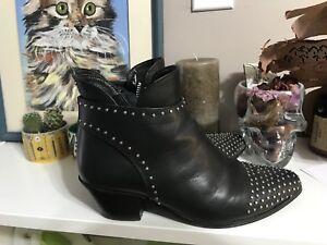 Cartel studded booties