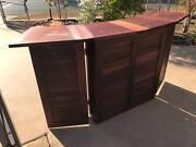 BAR - compact, folding, hardwood, mobile. Wulagi Darwin City Preview