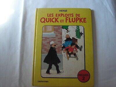Les Exploits de Quick et Flupke-Recueil 2-Réédition 1975 dernier titre Vol 714