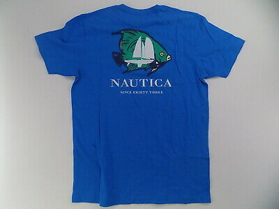 Men's Nautica  t-shirt blue medium NWOT