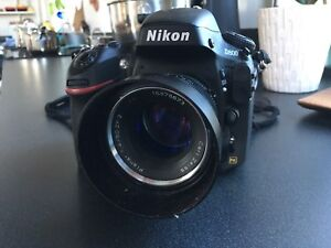 Nikon D800 with Carl Zeiss 50mm 1.4 T* lens