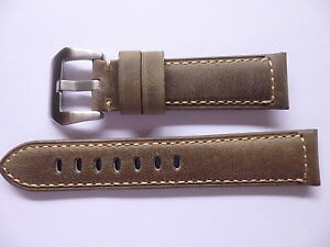 22mm-Watch-Strap-Band-with-buckle-22-20mm-Vintage-Leather-Panerai-Style