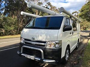 2013 Toyota Hiace LWB full Shelving Racks Gps Tradesman ready Frenchs Forest Warringah Area Preview