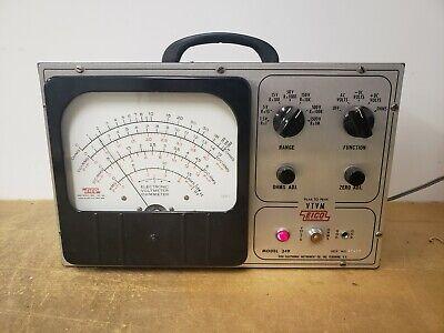 Eico Model 249 Vtvm Vacuum Tube Voltmeter Excellent