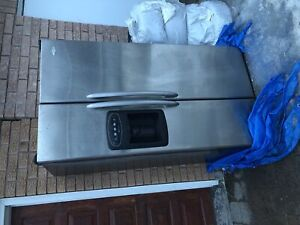 FREE fridge for parts and scrap Maytag stainless steel