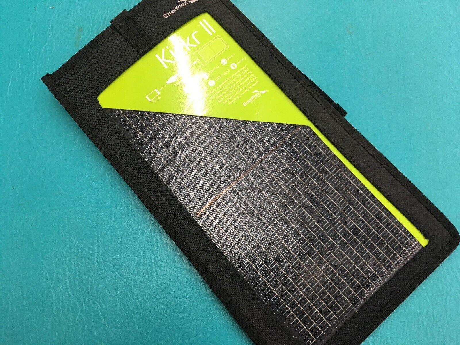 EnerPlex KR-0002-BK Kickr II Portable Solar Charger for Smar