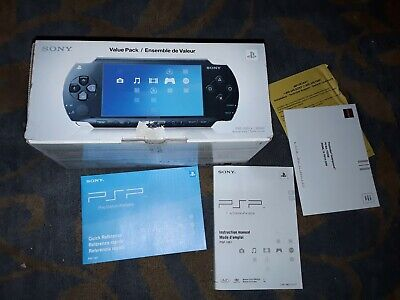 Sony Playstation Portable PSP 1001 **Box Only** With Papers- Handheld