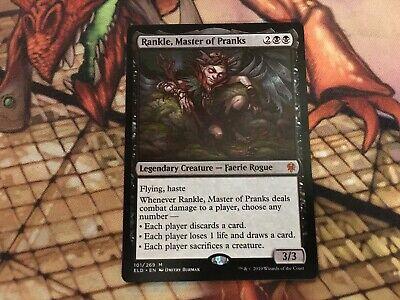 MtG x1 Rankle, Master of Pranks Throne of Eldraine - MTG - Magic the Gathering