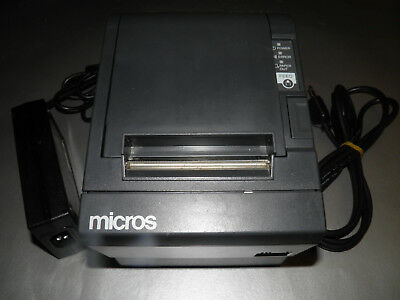 Micros Epson Tm-t88iii M129c Thermal Pos Receipt Printer Power Supply Idn