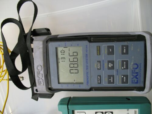 EXFO FOT-910 fibreoptic test system ( power meter and optical light source)
