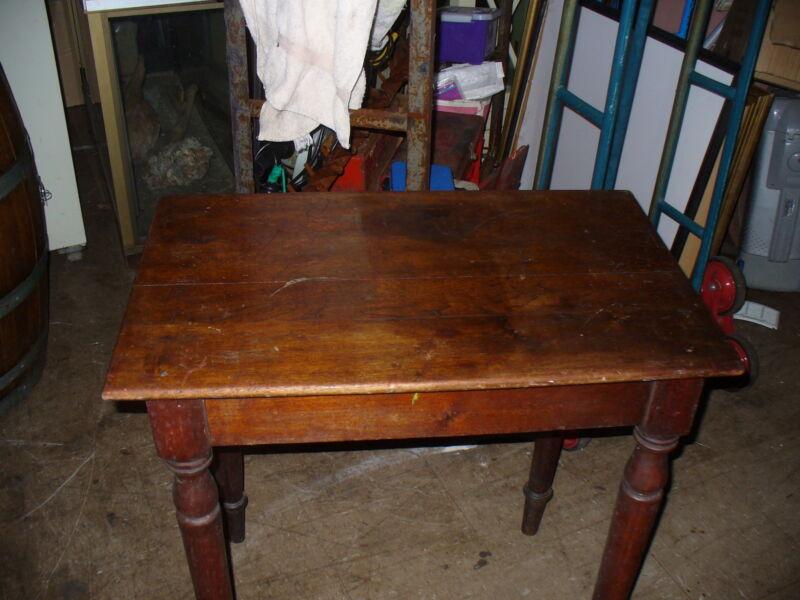 Australian antique table Cedar & Blackwood