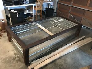 Galvanized Raised Garden Bed