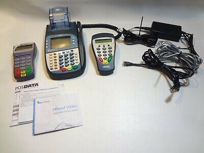 Verifone Pinpad Hypercom Optimum T400 Credit Card Reader Terminal Lot