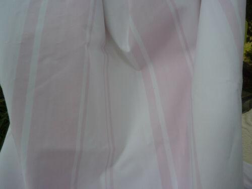 "Rachel Ashwell Shabby Chic Grand Stripe Pink and White Cotton Poplin 54"" Fabric"