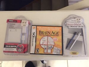 Brand new Nintendo DS game and accessories