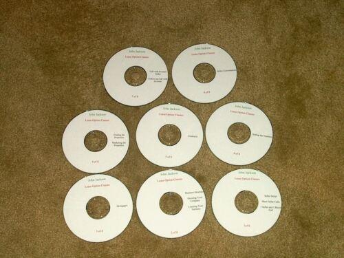 John Jackson Lease Purchase Option Audio Training CD