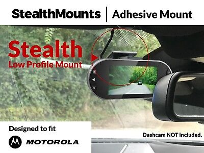 ADHESIVE WINDSCREEN MOUNT for Motorola MDC100 MDC 100 Dash Cam Dashcam HD Micro