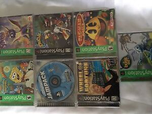 HUGE LOT of PS2 games plus  PS1 games. TESTED. 5 for $20