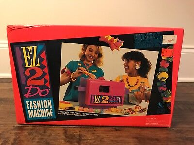 "1993 Vintage (Kenner) ""EZ 2 DO FASHION MACHINE SET"" Electric Toy, NEW! RARE!"