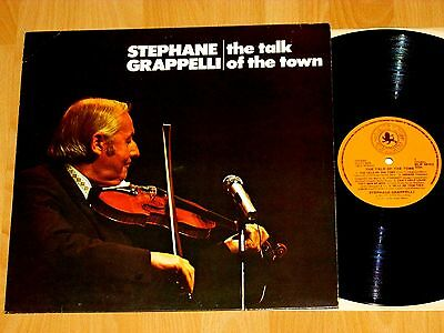 LP Stephane Grappelli - The Talk Of The Town - Stardust - Greensleeves