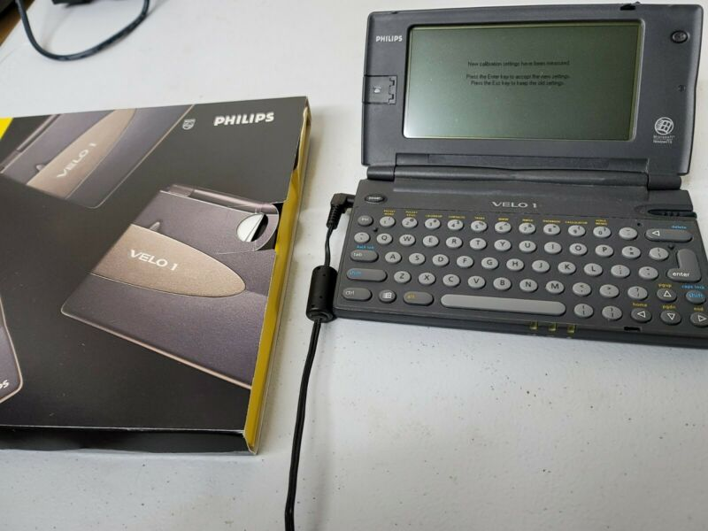 Philips Velo 1 4MB Handheld PC (vintage)
