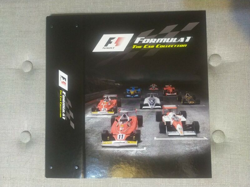 F1 Formula 1 The Race Car Collection Folder
