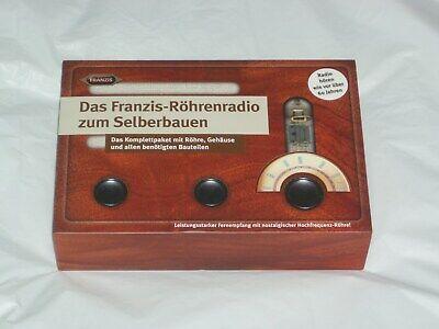 Regenerative Hf Tube Radio 3.5 To 12 Mhz  Diy Kit
