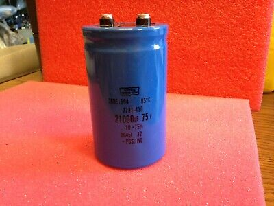 95C Capacitor With Clamp Nippon Chemi-Con 56000UF 63 VDC