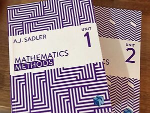 Books for Year 11- Mathematics Methods Osborne Park Stirling Area Preview