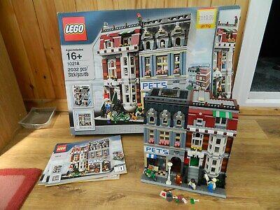 Lego Modular – 10218 Pet Shop – Instructions & Box - Retired Set– Creator Expert