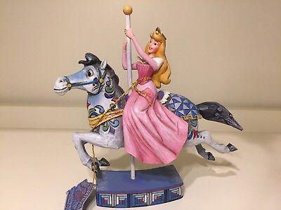 New Disney Traditions Jim Shore Princess Carousel  Aurora Sleeping Beauty🌹